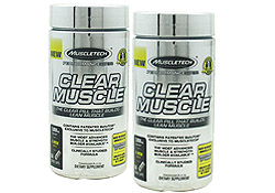 Clear Muscle (84 Capsules) BOGO